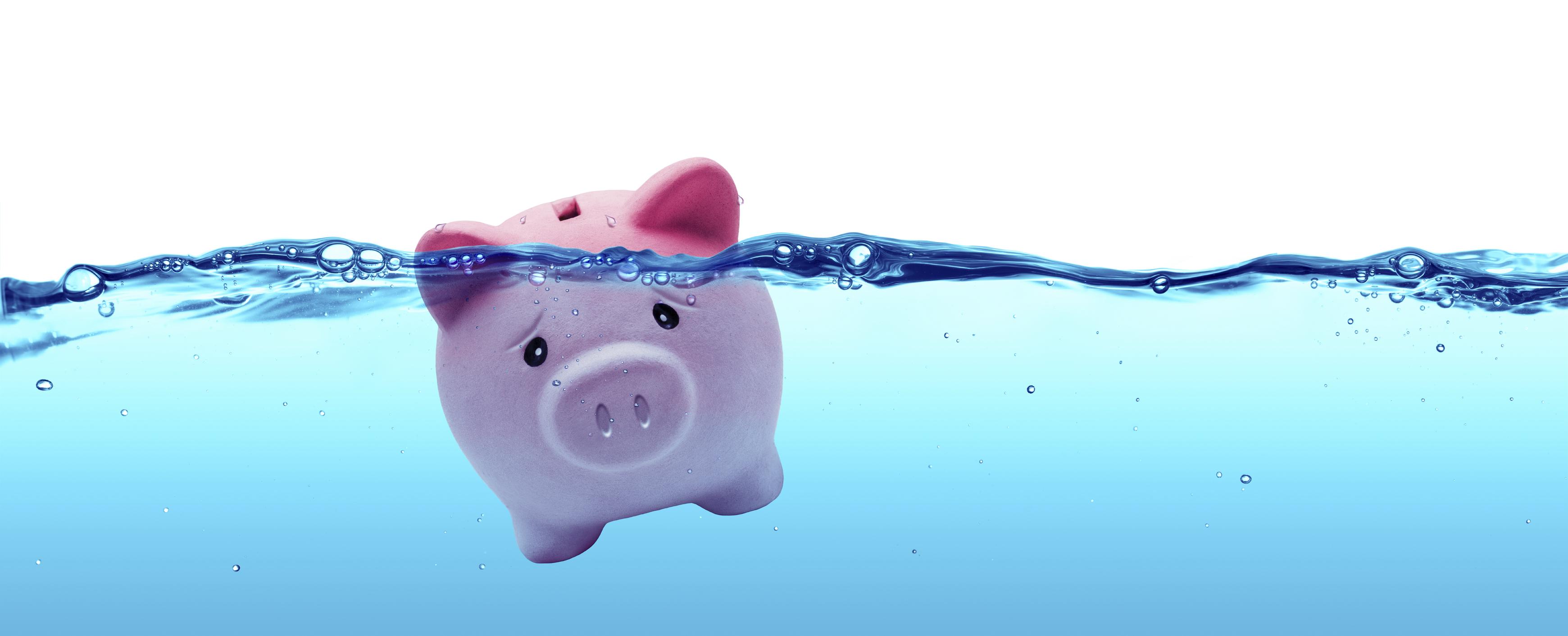 Image result for stressed piggy bank