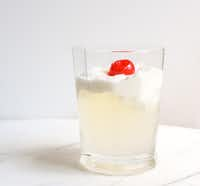 Lemonade with Pineapple Whipped Cream(Rebecca White)