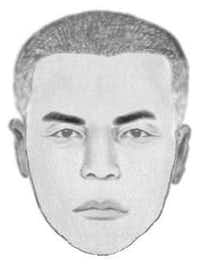 Police sketch of the gunman(Grand Prairie Police Department)