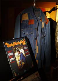 Country star Charley Pride's denim jacket he wore on The Best of Charley Pride Vol III is part of a collection of memorabilia donated to the Smithsonian's National Museum of African American History and Culture.  Photographed at his Dallas studios, Monday, September 24, 2012. (Tom Fox/The Dallas Morning News)(Staff Photographer)