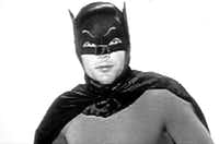 Adam West played Batman in the 1960s. He didn't host hotel training seminars.