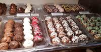 Chocolates of every flavor lure customers into Sweet Serendipity in the Georgetown Courthouse Square.(Helen Anders)