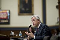 "John Stumpf, chief executive officer of Wells Fargo, told the House Financial Services Committee on Thursday that he feels ""deeply sorry"" about the bank's actions.(<p>Andrew Harrer/Bloomberg<br></p><p></p>)"