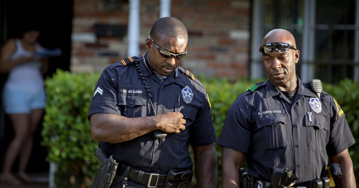 Black And Blue Dallas Black Officers Torn Between Police