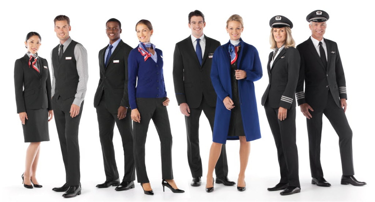 American Airlines Flight Attendants Say New Uniforms Gave