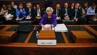"<p><span style=""font-size: 1em; background-color: transparent;"">Federal Reserve Board Chair Janet Yellen took a seat on Capitol Hill in Washington this week to discuss interest rates and whether there was a failure in oversight by federal banking regulators involving Wells Fargo. (AP Photo/Pablo Martinez Monsivais)</span></p>"
