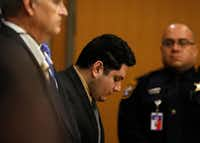 Enrique Arochi is sentenced to life in prison for the kidnapping of Christina Morris.(Jae S. Lee/Staff Photographer)