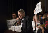 Libertarian presidential candidate Gary Johnson is a former two-term governor of New Mexico.Patrick Breen/The Arizona Republic via AP
