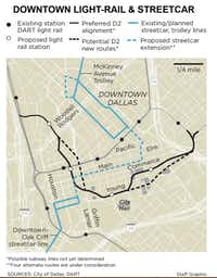 DART proposal for shorter suburban rail would stop at Addison ...