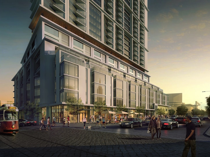 40 Story High Rise On The Way In Dallas Arts District
