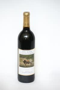 Becker Vineyards 2014 Texas Tempranillo(Louis DeLuca/Staff Photographer)