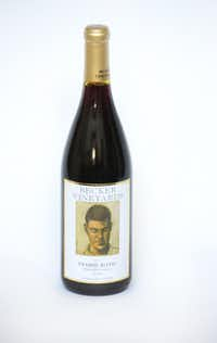 Becker Vineyards 2013 Prairie Rotie(Louis DeLuca/Staff Photographer)