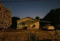 <p>The house in the 2400 block of Penn Street where police are investigating reports that men were being held against their will in what was said to be a drug or alcohol rehabilitation facility.</p>(Marc Ramirez/Staff)