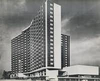 The Statler Hilton in 1954. (Dallas Morning News file)