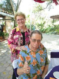 Former Dallas residents Ed and Karen Cage live in Ajijic, Jalisco. The Trump supporters will vote absentee from Mexico.(Ed Cage)