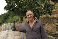 Walter De Batte of Prima Terra winery in Campiglia, Italy aims to produce Mediterranean wines that reflects the terroir of the Cinque Terre. (Amy Laughinghouse)