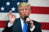 Donald Trump(Evan Vucci/The Associated Press)