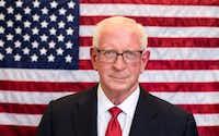 Darrell L. Castle in a campaign photo.(Contributed photo)