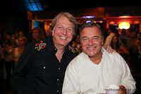 Chefs Dean Fearing and Kevin Garvin during the 2015 Cattle Baron's Ball at Gilley's. They will both participate in the 2016 ball's Celebrity Chefs' Live Auction.(Haynsworth Photography)