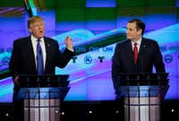 "Ted Cruz announced &nbsp;that he will vote for Donald Trump, a dramatic about-face for the Texas senator who previously called the New York businessman a ""pathological liar"" and ""utterly amoral.""&nbsp;(<p><span style=""font-size: 1em; background-color: transparent;"">David J. Phillip/Associated Press</span></p>)"