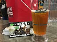 General Washington's Secret Stash IPA was served at the Great American Beer Festival in Denver, Colo., over the weekend.(Tiney Ricciardi/Staff)