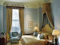 The Lanesborough hotel, Regency-style landmark in London's fashionable Knightsbridge neighborhood. Photograph supplied. 02012015xLUXE