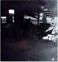Surveillance footage from a neighbor, which police say is consistent with the victim's statement.