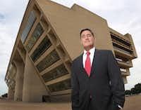 New Dallas City Attorney Larry Casto(Louis DeLuca/Staff Photpgrapher)
