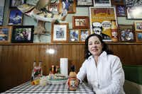 Callie McDole wanted to share her father's sauce with a wider audience, so she started Kountouris Creations. She tinkered with the recipe for the sauce. Her product, Papou's Comeback Sauce, is served on fish tacos and as a dipping sauce at The Flying Fish restaurant.(Ben Torres/Special Contributor)