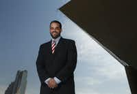 Council member Adam McGough, who has been negotiating with Walt Humann's foundation since August. (File Photo/Staff)