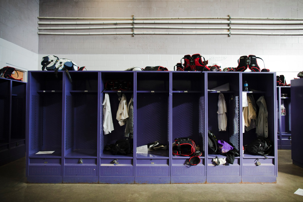 Hazing is more likely to occur in locker rooms So why doesnt Texas