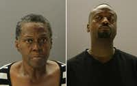 Cynthia Williams and Tracy Whetstone, the boy's cousin, were being held in the Dallas County Jail.
