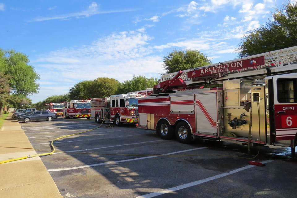 Arlington Man Escapes House Unharmed Before Fire Causes