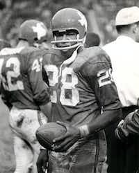 Shot November 24, 1962 - Abner Haynes of the Dallas Texans football team