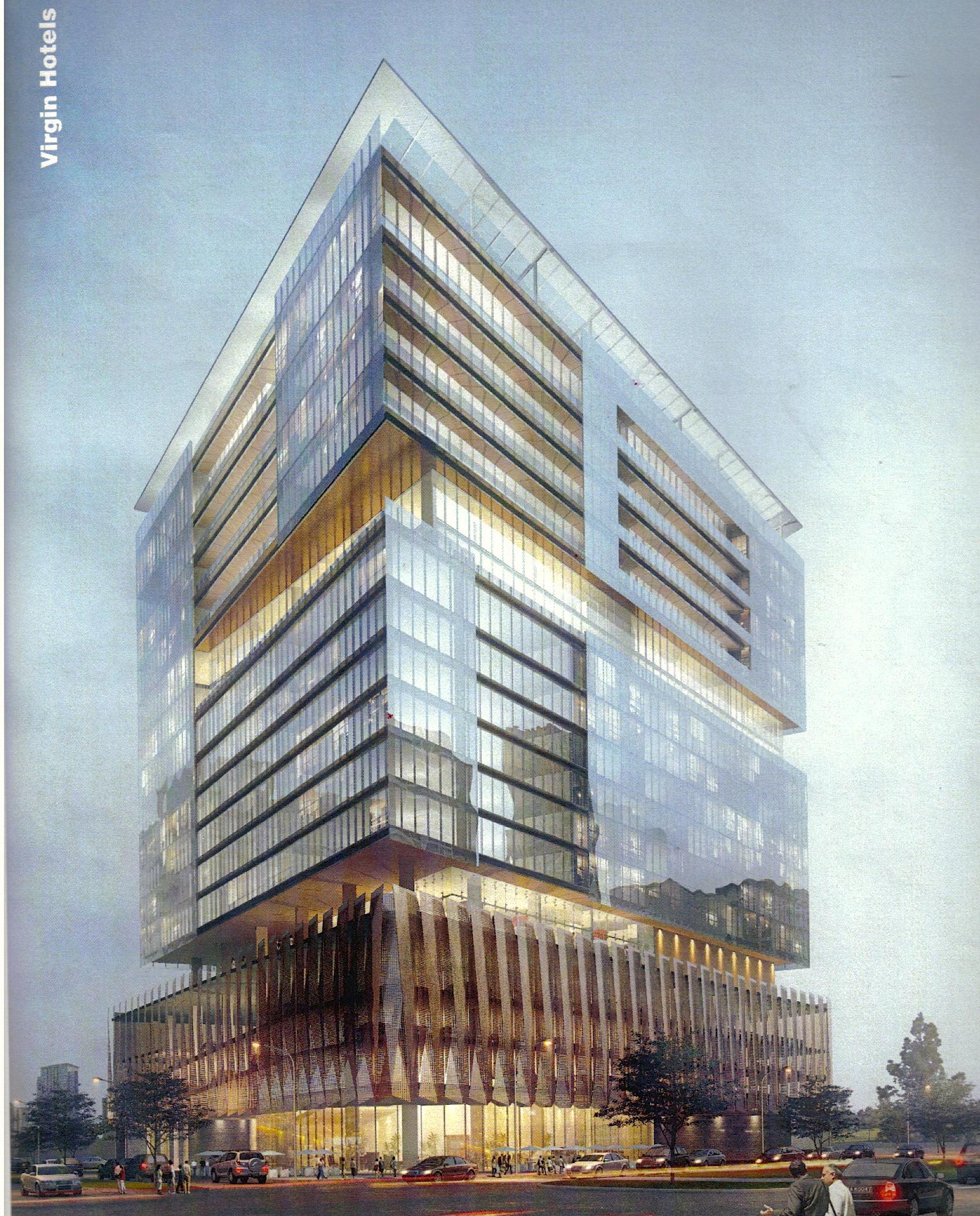 construction kicks off on 14 story virgin hotel in dallas design