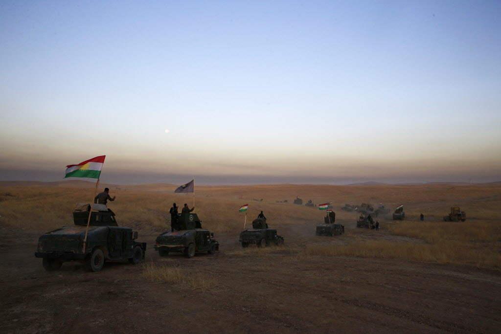 Iraqi Forces Launch Military Push To Drive Isis From Mosul