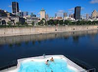 Bota Bota is a floating spa in the heart of Montreal s harbor. MONTREALPaul Ross