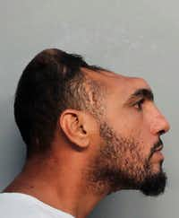 This Monday, Oct. 17, 2016, photo provided by the Miami-Dade Corrections and Rehabilitation Department shows Carlos Rodriguez, who is facing arson and attempted first-degree murder charges. I(Miami-Dade Corrections and Rehabilitation Department via AP)(AP)