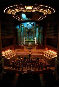 The Lay Family Organ at the Morton H. Meyerson Symphony Center(File)