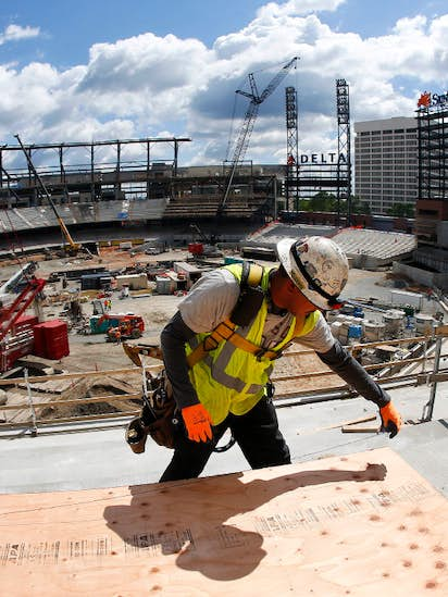 low priced fa9ee 7db3a Diamond doubleheader  Atlanta Braves  pitch for new stadium offers lessons  for Rangers