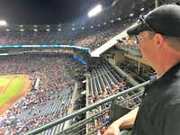 Jeff Pike, 55, of Marietta, Ga., watched his favorite team, the Detroit Tigers, defeat the Atlanta Braves at Turner Field on Sept. 30. Pike watches several Braves games each season and plans to keep doing that at SunTrust Park in  Cobb County, which is closer to where he lives.(Loyd Brumfield/Staff)