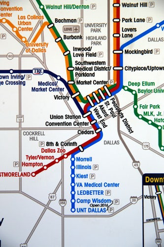 New Dart Light Rail Stations In Southeast Oak Cliff Open Monday