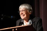 Ursula K. Le Guin at the University of Oregon campus in 2013.(<p>Jack Liu</p>)