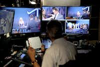 A taping of Tomi Lahren's show Tuesday, October 11, 2016 for Glenn Beck's The Blaze multimedia network, which is based in Irving, Texas.(G.J. McCarthy/Staff Photographer)