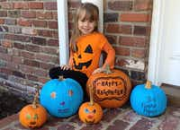 <p></p><p>No need for kids with food allergies to be left out of Halloween fun. Just look for a teal pumpkin on a porch; that house will be offering non-food treats.</p><p>Photo: Food Allergy & Research Foundation.</p><p><br></p><p></p><p></p><p><br></p>