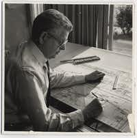 Late Dallas modernist architect Harold Prinz (Courtesy of Jeanette Prinz)
