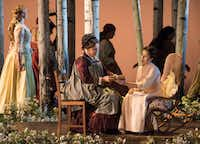 """The Dallas Opera held a dress rehearsal of Tchaikovsky's """"Eugene Onegin"""" at the Winspear Opera House on Tuesday.&nbsp;(<p><span style=""""font-size: 1em; background-color: transparent;"""">(Rex C. Curry/Special Contributor)</span><br></p><p></p>)"""