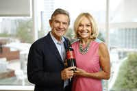 Craig and Kathryn Hall of Hall Wine.(Ting Shen/Staff Photographer)