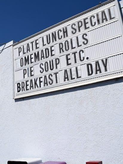 Skip I-35 and get a big dish of comfort food on scenic U S  281