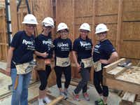 Ryan LLC offers its workers two full days of paid volunteer time to give back to causes, including Habitat for Humanity.(Ryan )